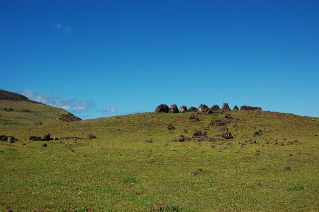 Ahu near Ana Kai Tangata