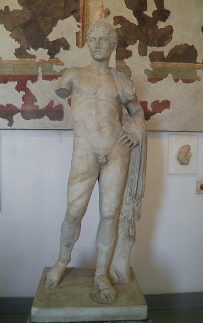 Statue of Hermes of the Julio-Claudian type, Palatine Museum, Rome