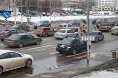 Пробка на Липецкой улице