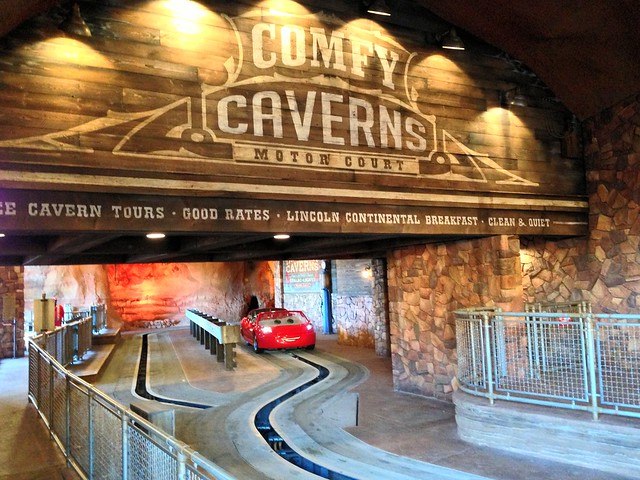 Radiator Springs Racers at Cars Land, Disneyland