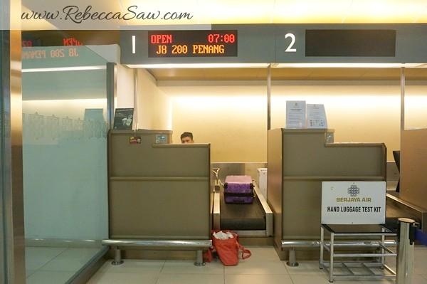 Berjaya Air flight to Penang
