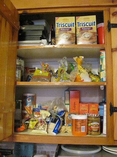 Cupboard before Tupperware