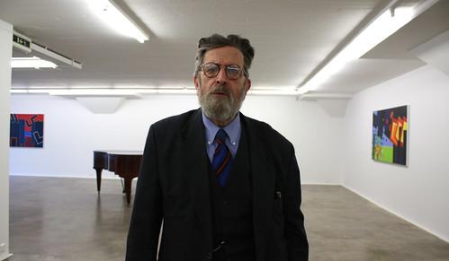 Peter Freudenthal visar nya sviten Warzawas ghetto 1943 på Galleri Dag Andersson