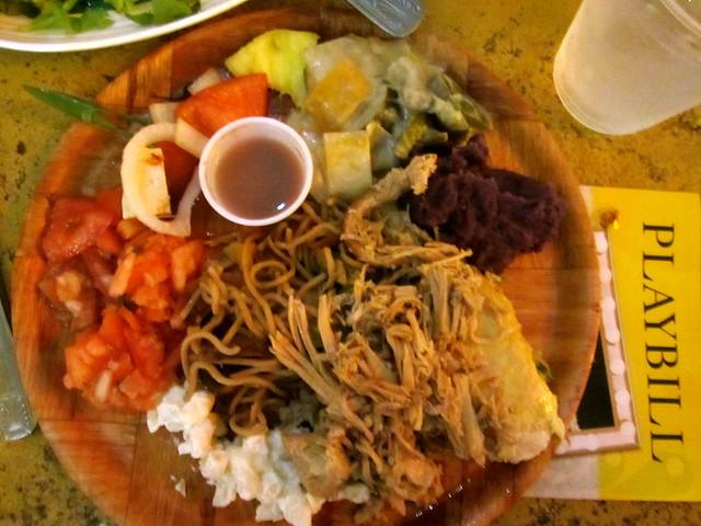 Kilohana Luau Food