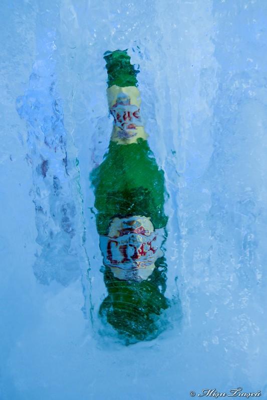 bere la rece