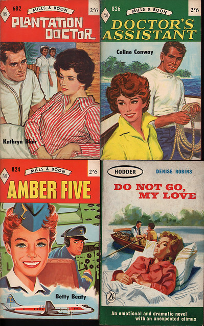 Mills and Boon classic covers