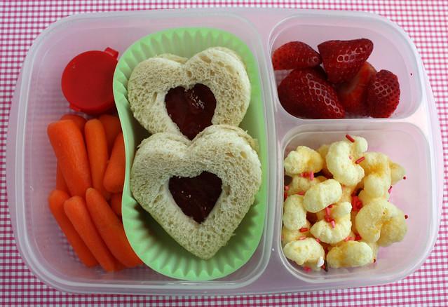 Third Grader Valentine's Bento #707