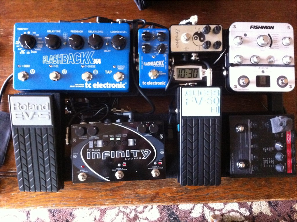 my acoustic pedal board post yours page 3 the acoustic guitar forum. Black Bedroom Furniture Sets. Home Design Ideas