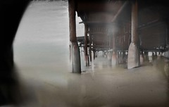 'Under the Boardwalk' (Crystal Pier, Pacific Beach, San Diego, California)