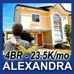 House and Lot for Sale in Imus Cavite near MOA at Lancaster Estates. Alexandra House Model