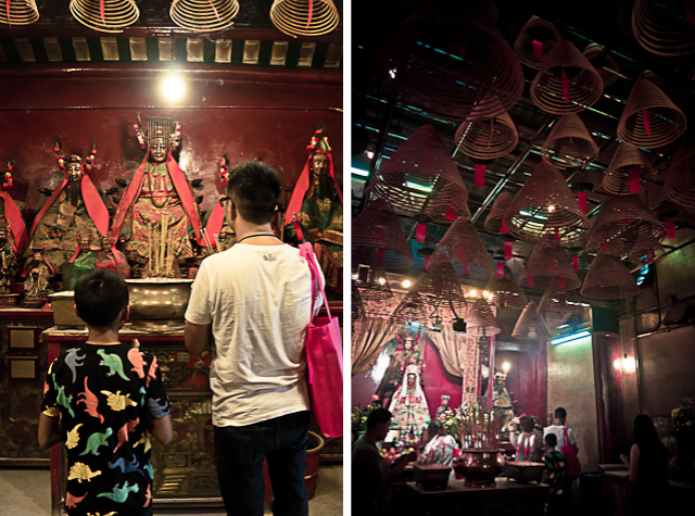 Man Mo Temple (Diptych)