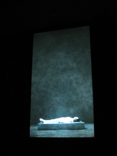 Bill Viola: Tristan's Ascencion (The Sound of a Mountain under a Waterfall)