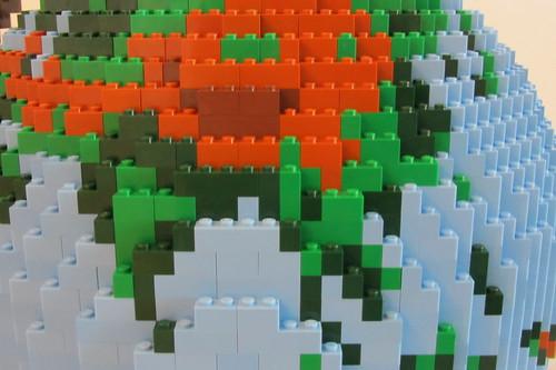 dirks LEGO globe - closeup 07 himalaya