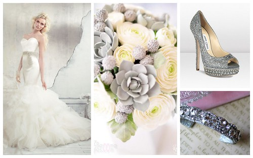 {Silver Accents} Bridal Style by Nina Renee Designs