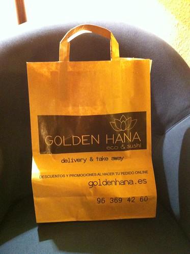 Valencia | Golden Hana | Bolsa del pedido