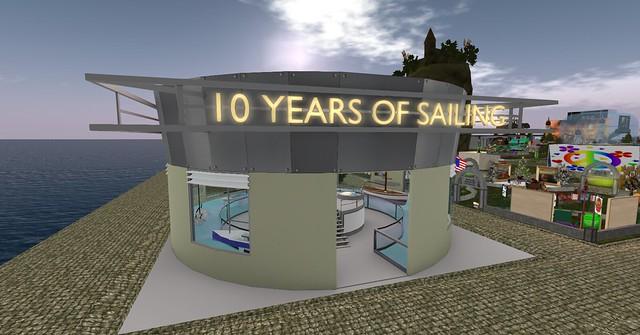 """10 Years of Sailing"" exhibit at SL13B"