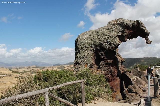 Roccia dell'Elefante, Nord Sardegna