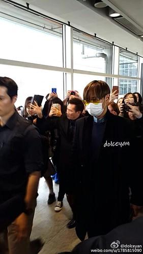 TOP arriving Hong Kong 2015-03-13 dolceyan