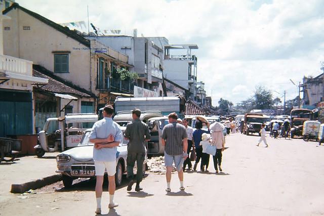 Biên Hòa 1966-67 - Đường Lê Thánh Tôn