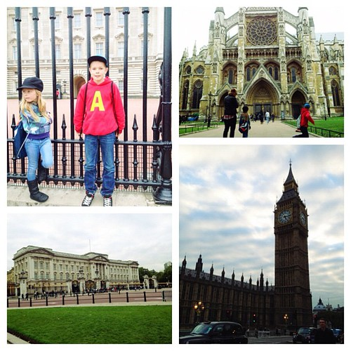 The touristy things we did today. #BuckinghamPalace #BigBen #WestminsterAbbey