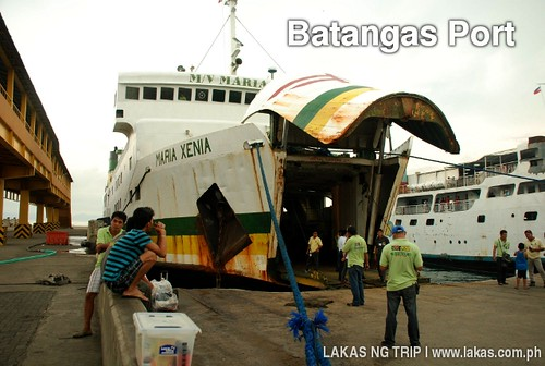 Montenegro Lines Maria Xenia at Batangas Port going to Romblon Island