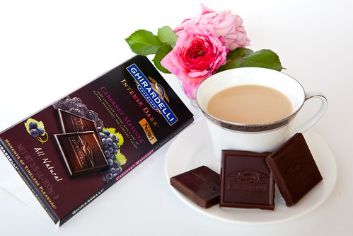 Ghiradelli Intense Dark Chocolate Bar: Cabernet Matinee
