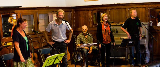 Concert Bob, Frank en zussen