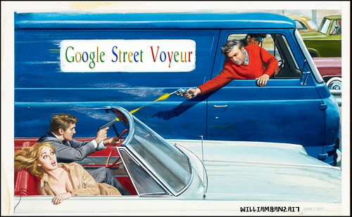 GOOGLE CHASE by Colonel Flick