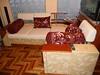 Перетяжка углового дивана, пошив подушек и валиков