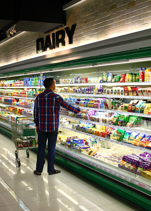 Dairy-Section