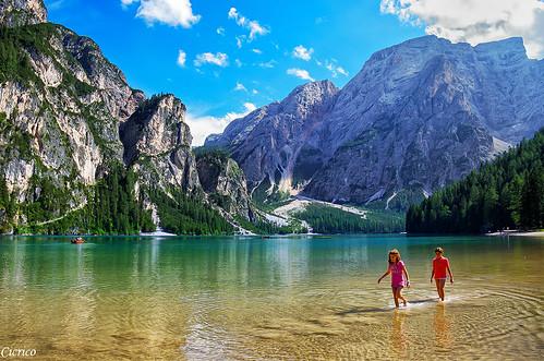 Lago di Braies - Pragser Wildsee, mt.1.496 s.l.m by cicrico