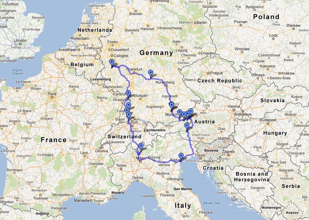 VWVortexcom My BMW Euro Delivery Adventure Nurburgring Inside - Germany map nurburgring
