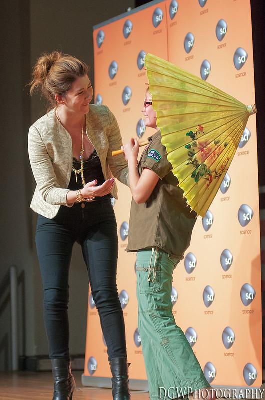 NY ComicCon 2012 - Jewel Staite