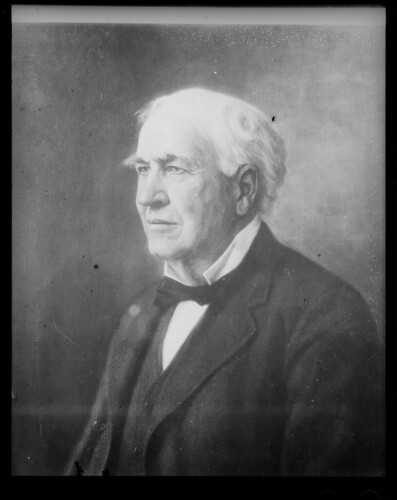 Thomas Edison portrait