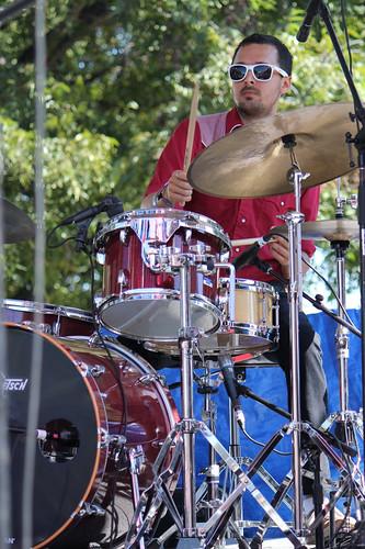 Lera Lynn drummer C.K. Koch