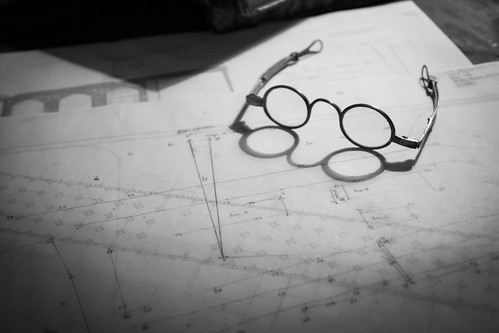 Reading Glasses & Blueprints | by simononly