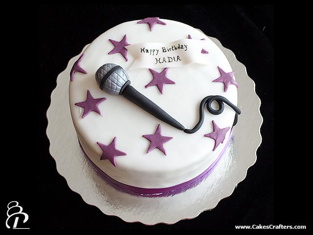 Как сделать микрофон торт