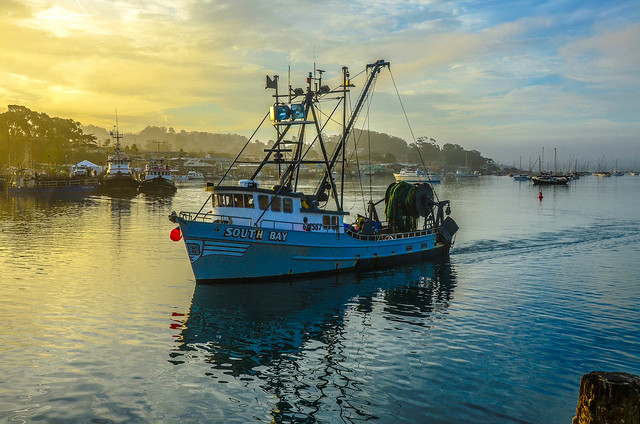 Morro bay morning fishing boat flickr photo sharing for Morro bay fishing