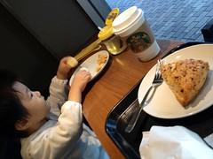 スタバで朝御飯 (2012/10/21)