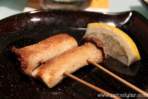 Eringi Mushroom, Yakitori Do