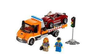 Lego City 60017: Tieflader