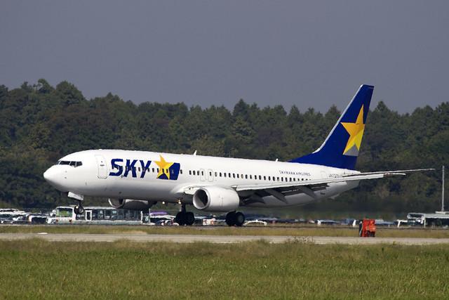 SKYMARK B737-800