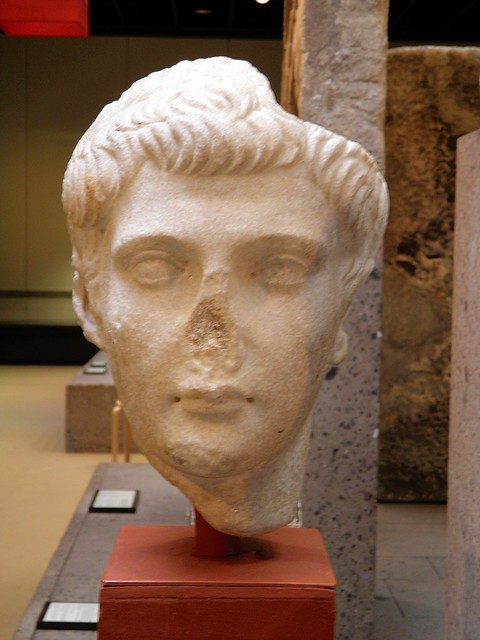 Portrait of the younger Drusus, son of the emperor Tiberius and Vipsania Agrippina, Romisch-Germanisches Museum, Cologne