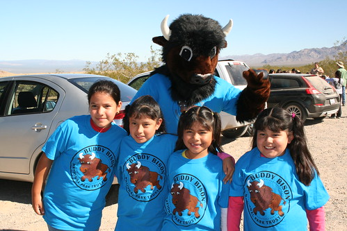 Buddy with Baker Elementary Students in Mojave National Preserve