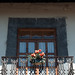 Balcón florido en Zacatlán