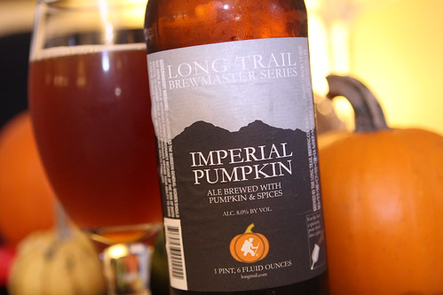 Long Trail Brewmasters Series Imperial Pumpkin