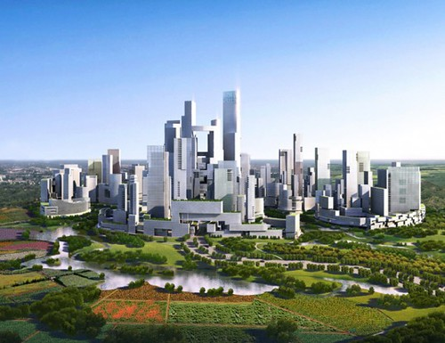 Энергетически автономный город без машин появится в Китае