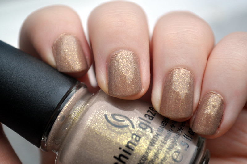 china glaze fast track nail polish NOTD 4