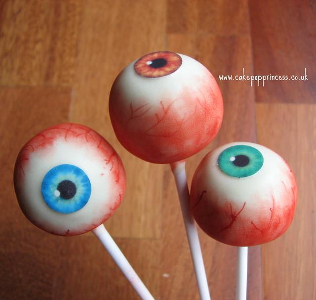 Eyeball cake pops | Flickr - Photo - 126.7KB