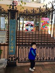 朝散歩 - 長谷戸小学校 (2012/10/26)